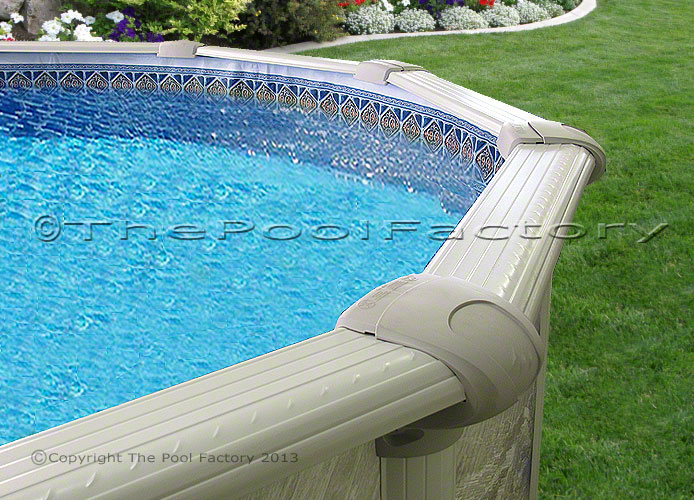 24x54 Quot Round Above Ground Swimming Pool 54 Quot High Kit 7